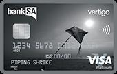 BankSA Vertigo Platinum Credit Card