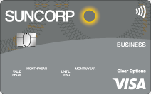 Suncorp Clear Options Business Credit Card