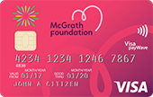 Community First CU McGrath Pink Visa Card