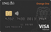 ING Direct Orange One Platinum Credit Card