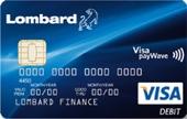 Lombard 55 Visa Card