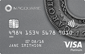 Macquarie Visa Platinum Qantas Rewards Credit Card