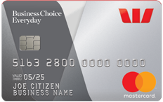 Westpac BusinessChoice Everyday Mastercard®
